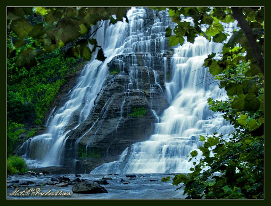 Ithaca Falls 3 by Dracoart