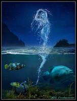 Genie of the Sea by Dracoart