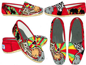 TOMS Shoes Africa Theme