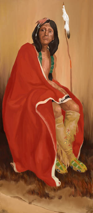 Elk Foot of the Taos Tribe (copy)