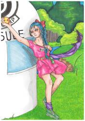 Bulma and the Dragon Ball