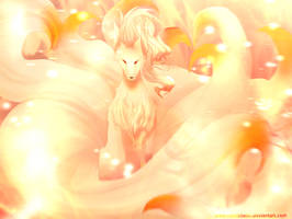Ninetails Pokemon by ComicBelle