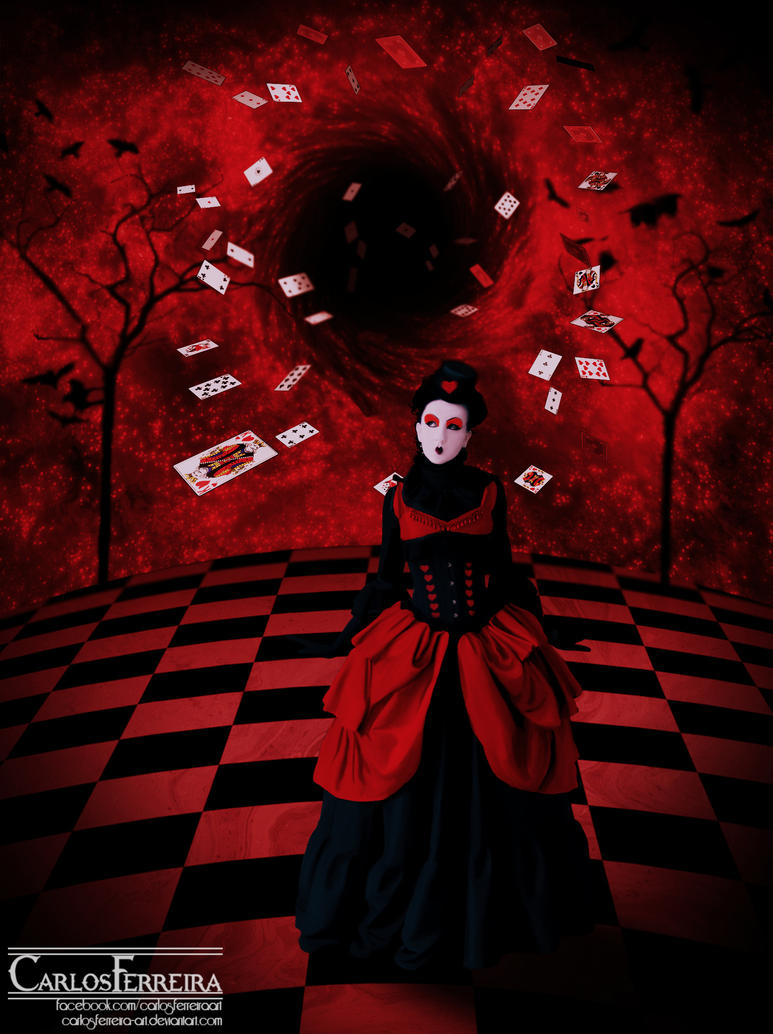 Queen of Hearts by carlosferreira-art