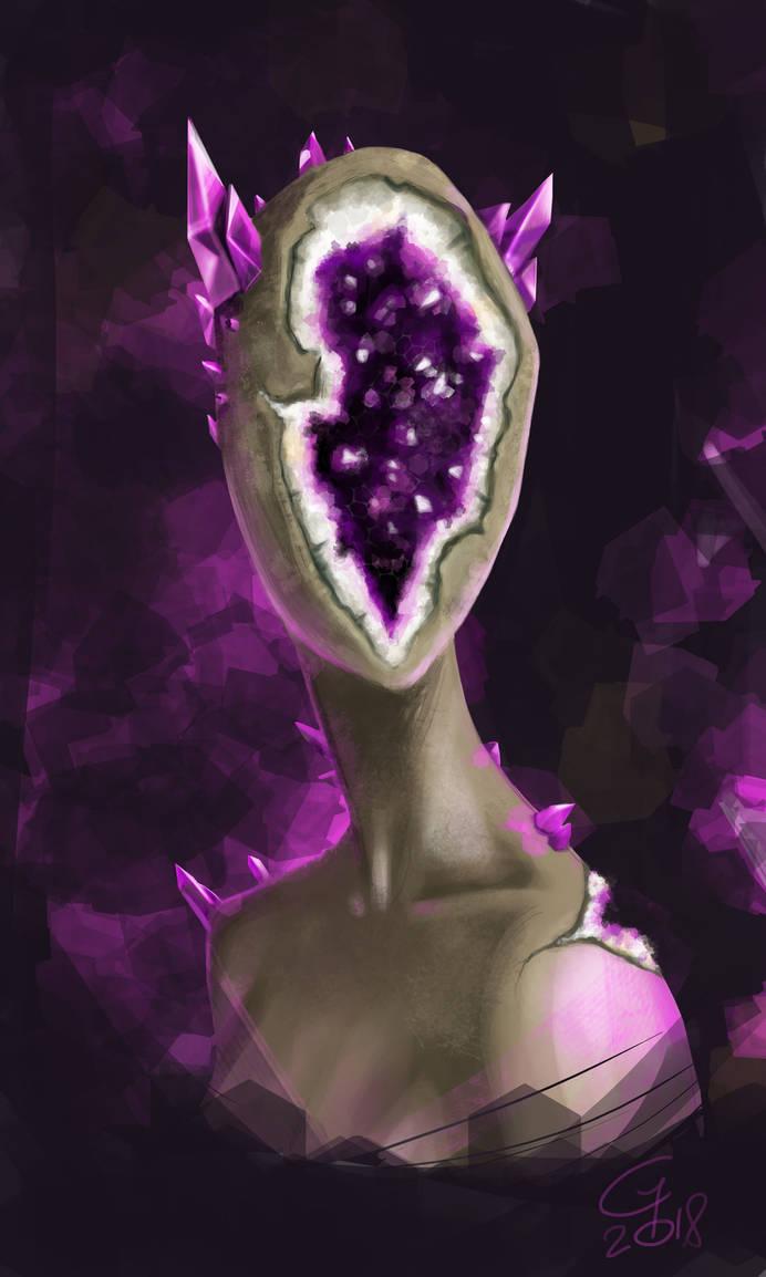 Geode Portrait by gh30rgh3