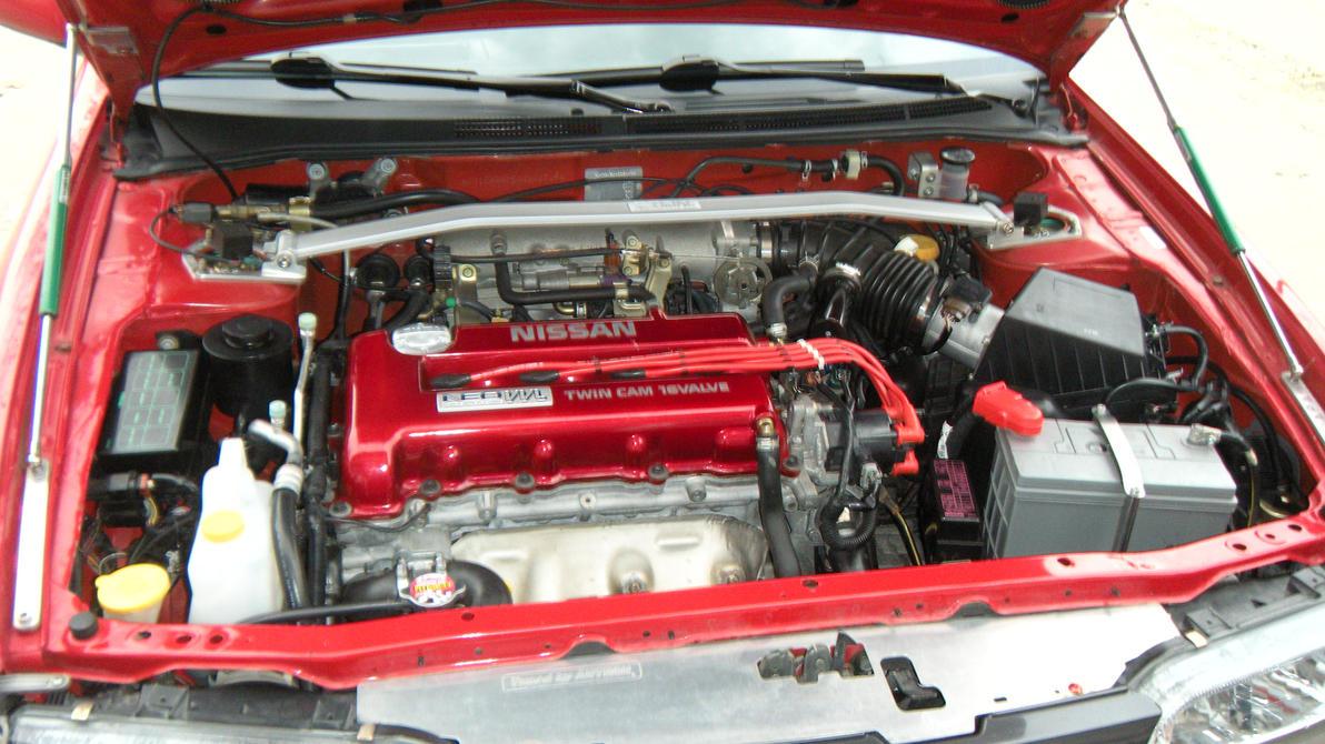 Nissan Sr16ve N1 Motor By Lukofws On Deviantart