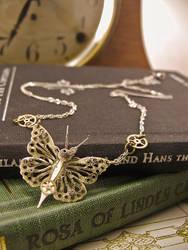 Geared Up Butterfly by GildedGears