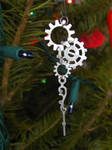Snowflakes and Icicles Ornament