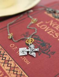 Messenger Bird Necklace by GildedGears
