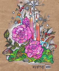 Starry Rose Solstice