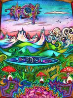 Mountain Sky High by lauraborealisis