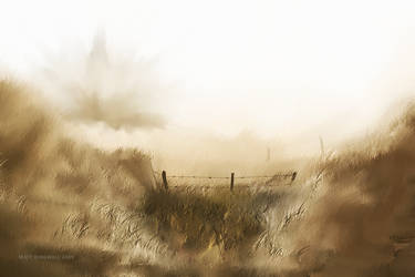 Speed Paint - Behind the Wire by zStag