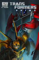 Transformers Prime 4 by Desoluz
