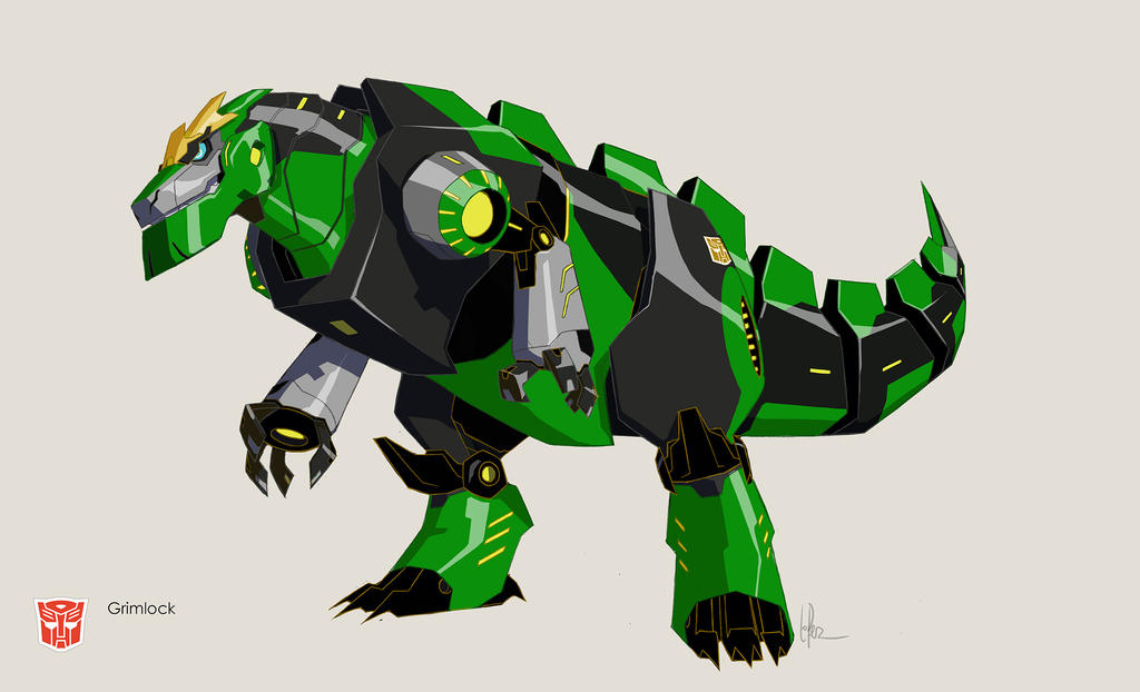 green grimlock coloring pages - photo#34