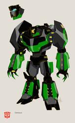 TFS Grimlock Bot color Final