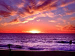 Trigg Sunset IX by SaphoPhotographics