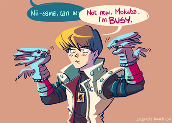 not now, mokuba by papricots