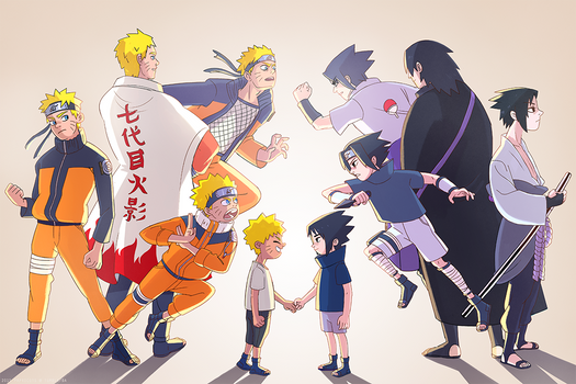 Naruto - Timeline