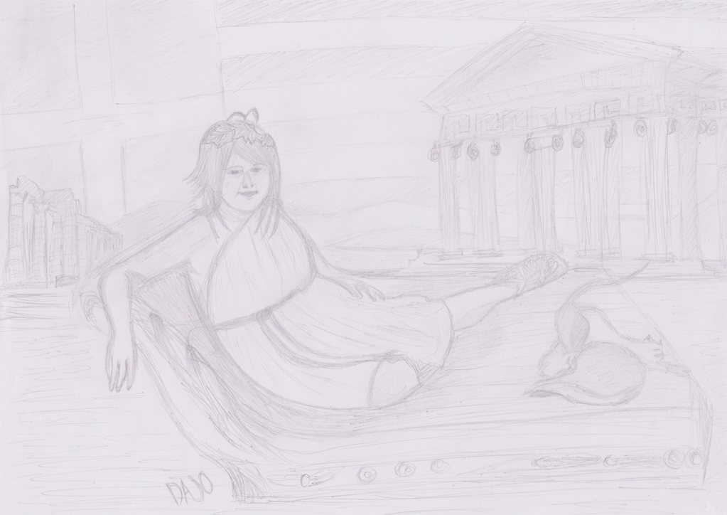 Draw me like one of your Greek girls by DajoBraginswa