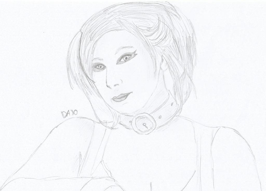 Suprise Cosplay Drawing: Harley Quinn by DajoBraginswa