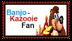 Banjo-Kazooie Fan Stamp by ConkaNat