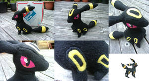 Umbreon Plush by TheDarkenedElf