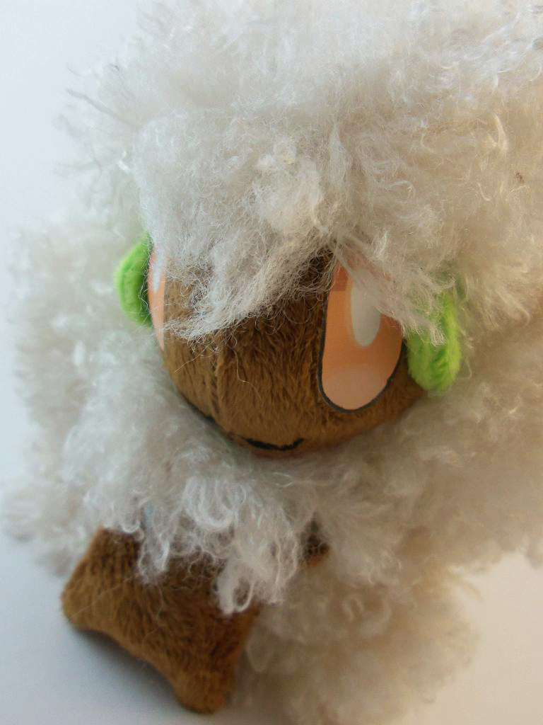 Custom Whimsicott Plush by TheDarkenedElf