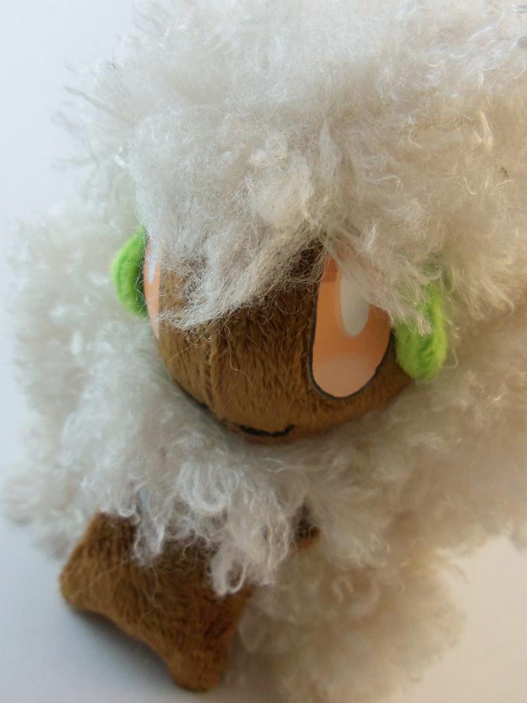 Custom Whimsicott Plush by TheDarkenedElf