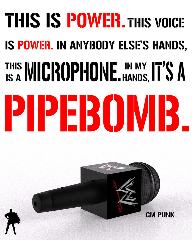 In cm punks hands its a pipebomb by torquesangel on deviantart in cm punks hands its a pipebomb by torquesangel voltagebd Images