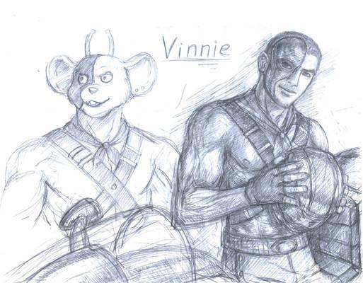 Vinnie humanised