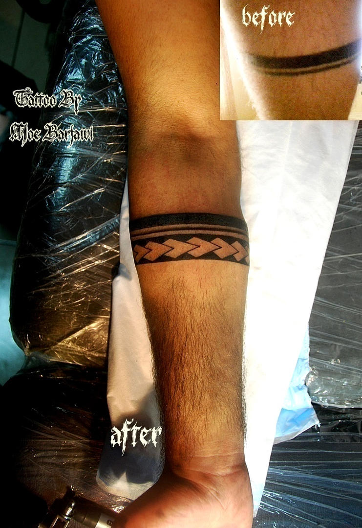 arm band maori tattoo by moe barjawi tattoos by moe