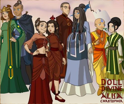 ATLA Couples: Grown Up by GoldenValentine