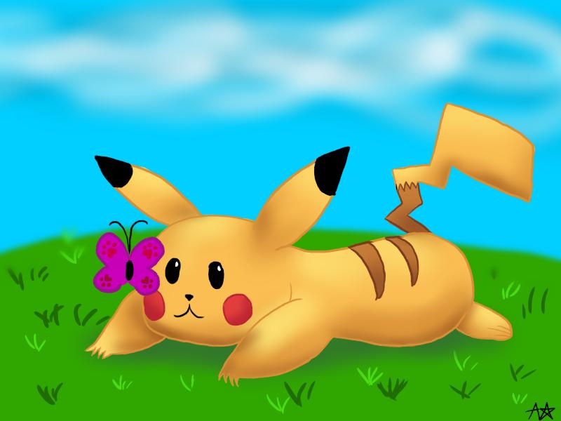 Pikachu by Suzuki--Yuki
