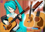 MMD Folk Guitar Accessory Ready to Download