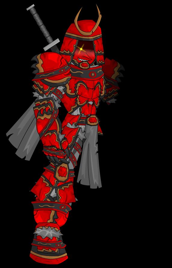 demon samurai by zerktheevil on deviantart
