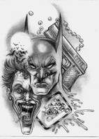 Batman by Louzadasama