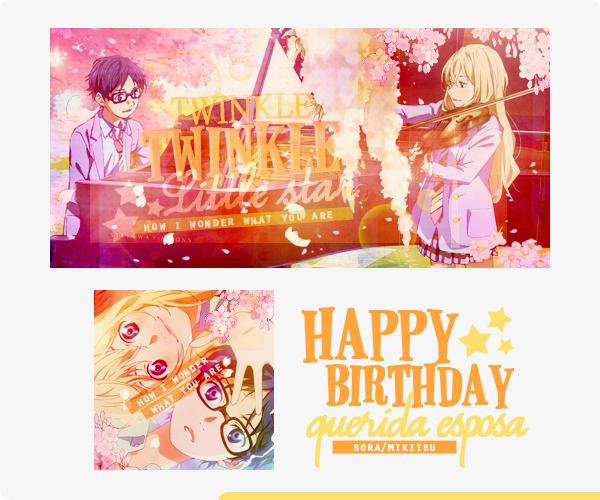 Happy B-Day Sora~ by HimariHimura
