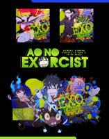 Ao no exorcist~ by HimariHimura