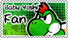 Baby Yoshi Fan stamp by FabyTetrix