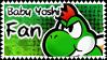 Baby Yoshi Fan stamp by FabyTetrix
