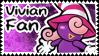 Vivian Fan stamp by FabyTetrix
