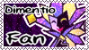 Dimentio Fan stamp by Pineappa
