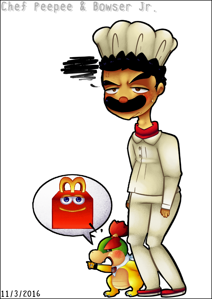 Bowser Jr S Meal Command By Pineappa On Deviantart