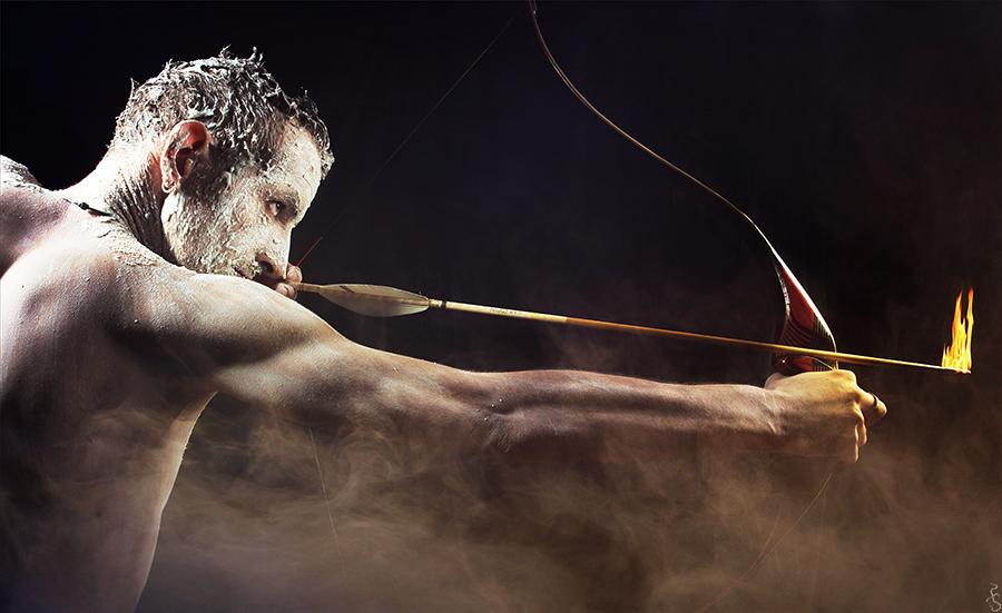 My warrior by Philaeria