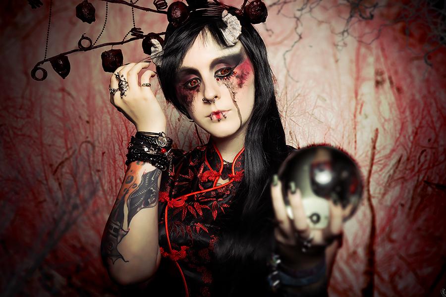 Neo geisha by Philaeria