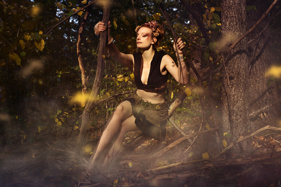 My golden fairy by Philaeria