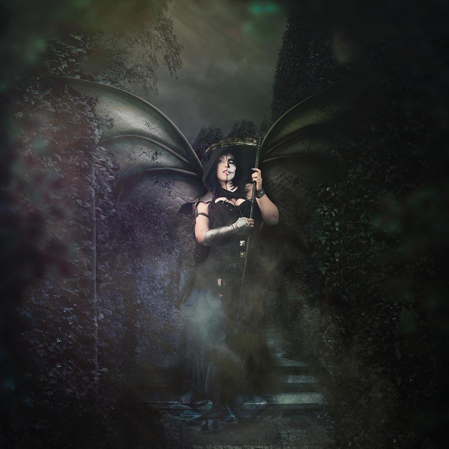 The Grim reaper by Philaeria