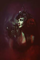 Black skull symphony III