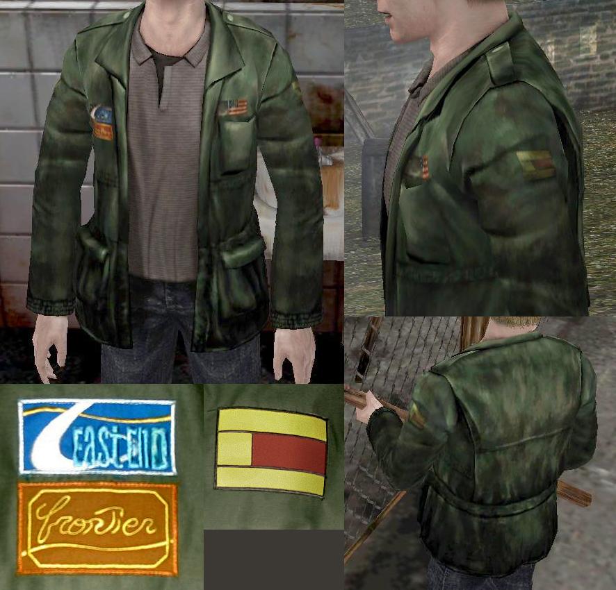 Silent Hill 2 James Jacket By Aucifer666 On Deviantart