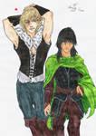 Prince Jalan and Prince Jorg (Coloured)