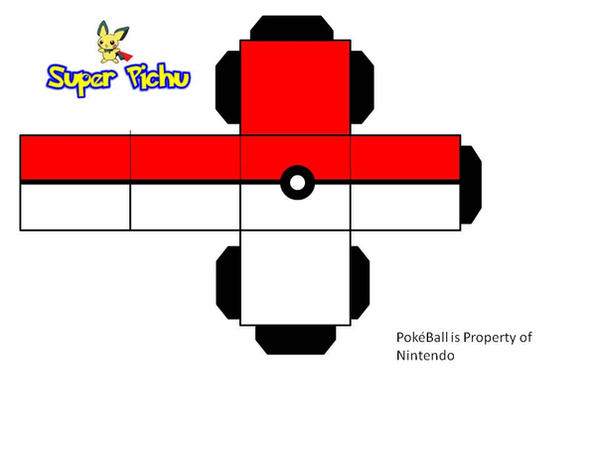 PokeBall Paper Craft by Super-Pichu on DeviantArt